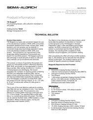 TRI Reagent (T9424) - Technical Bulletin