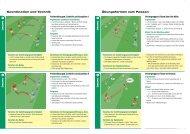 Koordination und Technik Ãœbungsformen zum  Passen - DFB