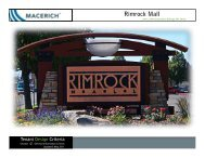 Rimrock Mall - Macerich