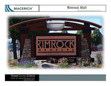 Rimrock Mall - Macerich