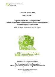 Technical Report 0802 Sonderforschungsbereich 696 ... - SFB 696