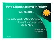 Bill Wong's Presentation - Toronto and Region Conservation Authority