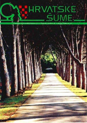 Urbano šumarstvo - Hrvatske šume