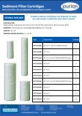 Cartridge Filters and housing Brochures - Page 3