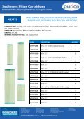 Cartridge Filters and housing Brochures - Page 4