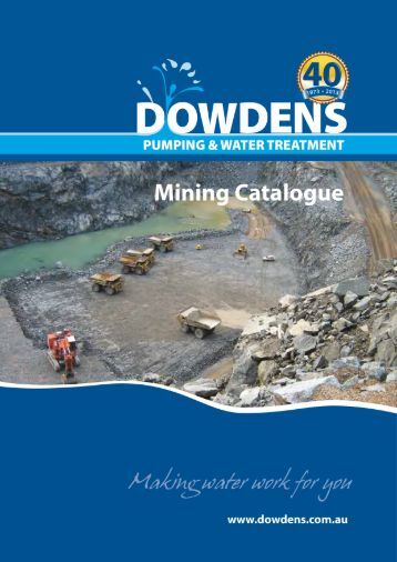Mining Catalogue - Dowdens Pumping
