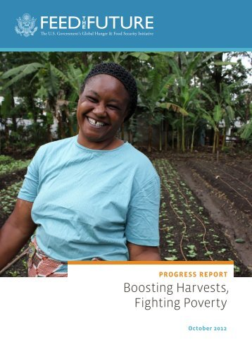 Boosting Harvests, Fighting Poverty - Feed the Future