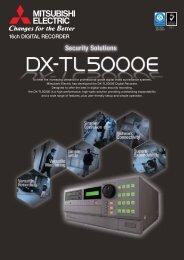 Mitsubishi DX-TL5000E Datasheet - SLD Security & Communications
