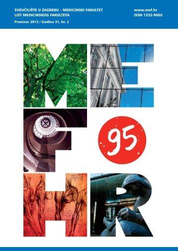 MEF.HR - Medicinski fakultet - Sveučilište u Zagrebu