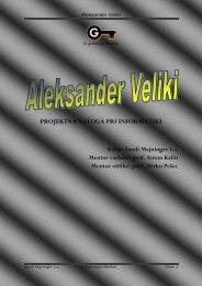 Aleksander Veliki - II. gimnazija Maribor