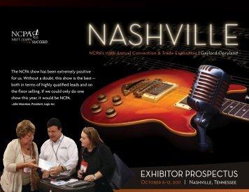 exhibitor prospectus - National Community Pharmacists Association