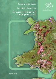 TAN 16: Sport, Recreation and Open Space (PDF 2.0mb)