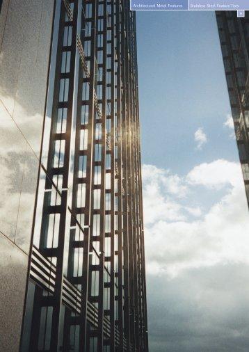 Stainless Steel Feature Tees - EDM Spanwall