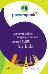 Download the powerspeaK¹² Catalog - K12.com