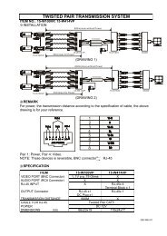 TWISTED PAIR TRANSMISSION SYSTEM ← →