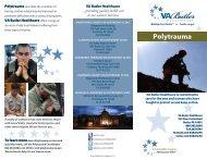 Polytrauma brochure.indd - VA Butler Healthcare