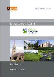 Report - Denbighshire Local Development Plan