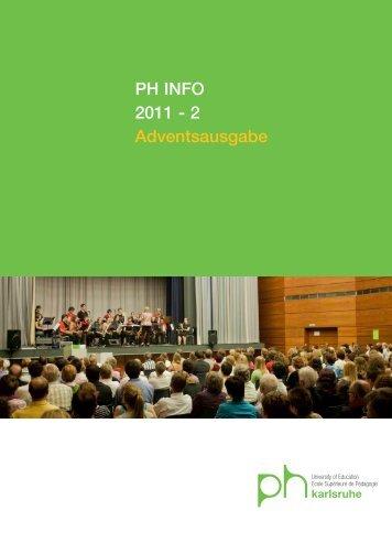 2011 - 2 - Pädagogische Hochschule Karlsruhe