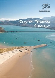 Coastal Tourism Strategy WEB - Tourism Partnership Mid Wales