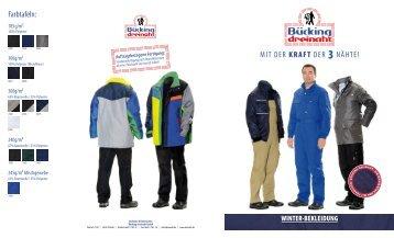 winter-bekleidung - Bücking Dreinaht