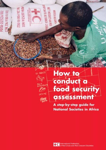 How to conduct a food security assessment - International ...
