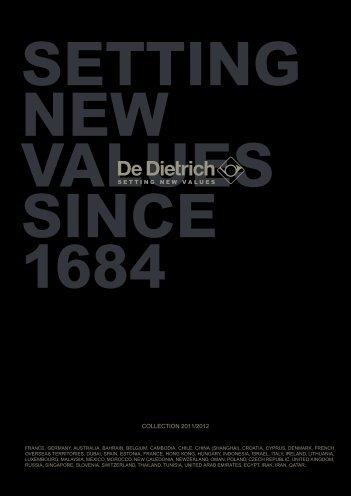 De Dietrich Catalogue 2012