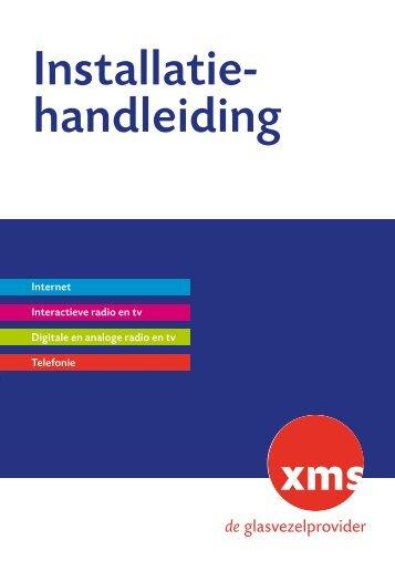 Installatie- handleiding - XMS