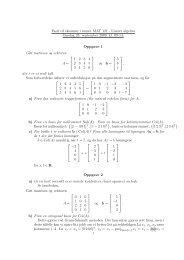 Fasit til eksamen i emnet MAT 121 - Lineær algebra Onsdag 23 ...