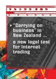 Carrying on Business in New Zealand by Michael Chin