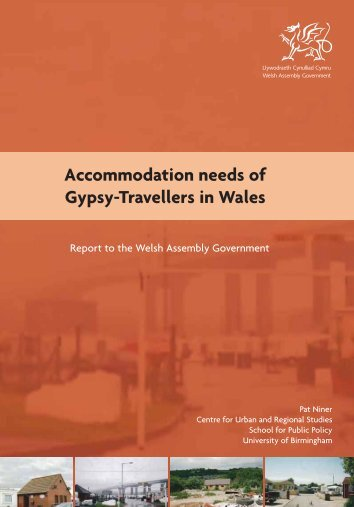 Accommodation Needs of Gypsy Travellers in Wales (PDF 1.3mb)