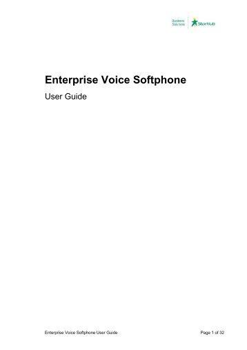 Enterprise Voice Softphone