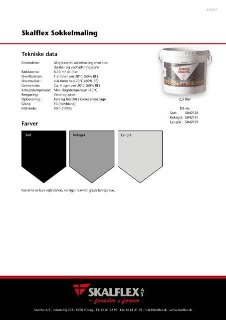Datablad - Skalflex