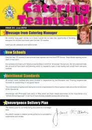 Catering News June 2010.indd - Belfast Education & Library Board