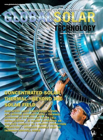 CoNCeNTrATed SolAr TherMAl—beyoNd The SolAr field