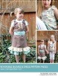 Reversible Blouse and Dress Pattern - Carina Gardner - Page 4