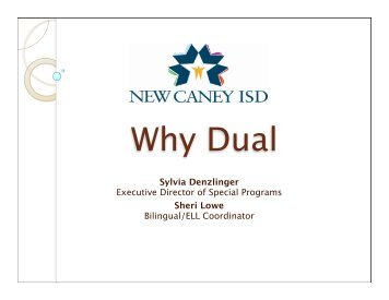 Why Dual Language? - ACET