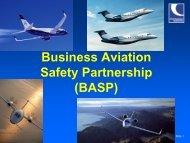 Business Aviation Safety Partnership (BASP) (472 KB, PDF) - eBace