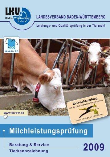 Ergebnisheft MLP 2009 - Landesverband Baden-Württemberg für ...