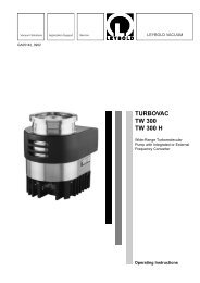 TURBOVAC TW 300 TW 300 H