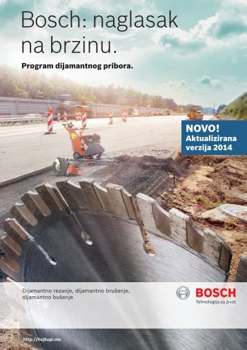 BOSCH Program dijamantnog pribora