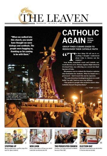 RedisCover Their CatholiC Faith - The Leaven