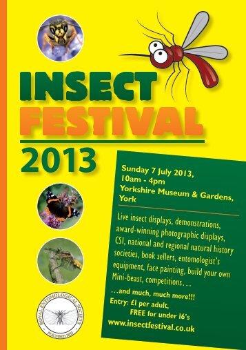 Insect Festival - Royal Entomological Society