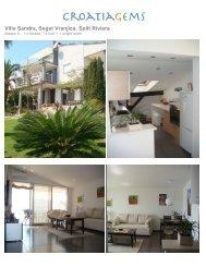 Villa Sandra, Seget Vranjica, Split Riviera - Croatia Gems