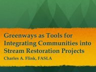 Greenways - Illinois River Watershed Partnership