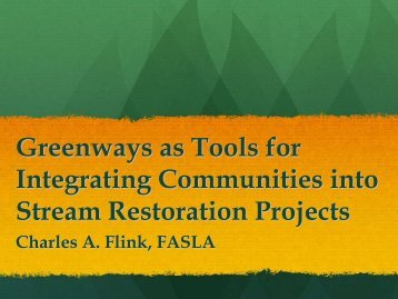 Greenways - Illinois River Watershed Partnership