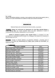 ANUNCIO Lista Definitiva Peón mto. Trajano - Ayuntamiento de Utrera