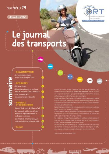 journal des transports n° 79 - ORT PACA
