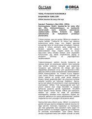 ORGA Kartensysteme GmbH, İstanbul'da bir satış ofisi açtı. - Ölçsan