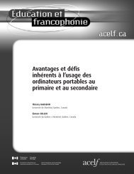 Article complet (pdf) - acelf