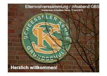 Elternversammlung am 17. April 2012 - Grundschule Scheeßeler ...